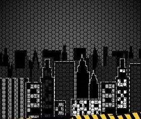 Urban Backgrounds 2 vector