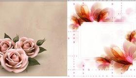 Floral Backgrounds 6 vector