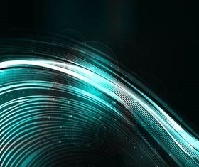 Shiny Waves Backgrounds vector