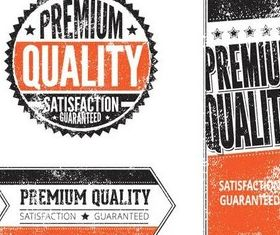 Grunge Sale Quality Labels art creative vector