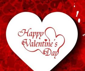 Valentines Backgrounds Set 4 vector
