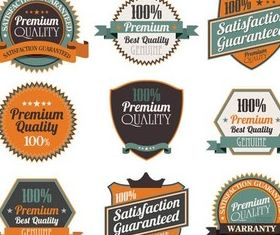 Sale Colorful Labels vector