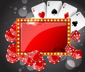 Casino Backgrounds 7 vector