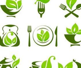 Health Food Logo vector