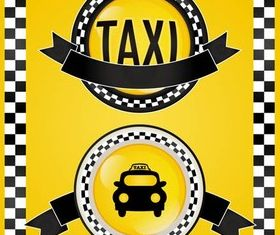 Taxi Backgrounds vector