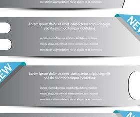 Steps Color Elements vector