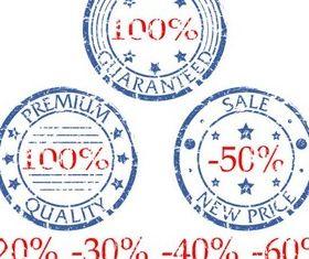 Sale Stamps vectors