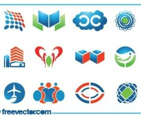 Logo Templates Set vector design