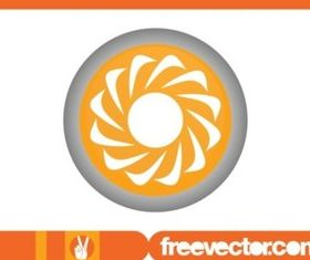 Flower Icon graphics vector