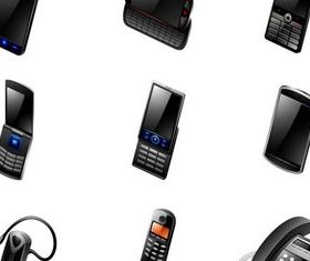 Devices Icons vectors graphics