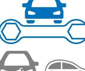 Garage Symbols vector