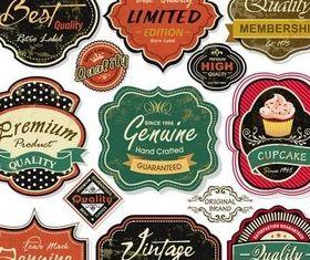 Sale Labels vectors material