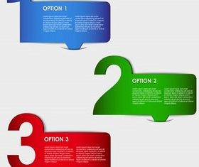 Color Options vector set