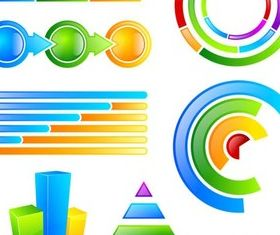 Web Infographics Elements vector