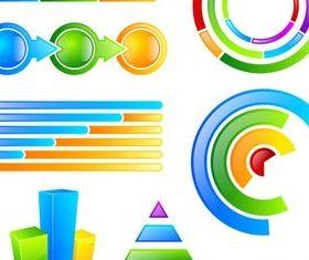 Web Infographics Elements vector
