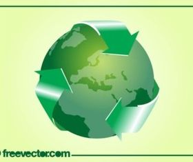 Green World vector graphics