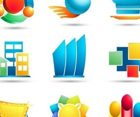 Shiny Design Icons vector design