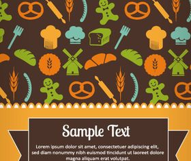 Restaurant Menu background 1 vector