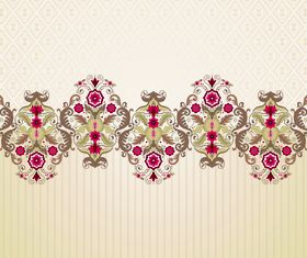 Floral patterns 1 vector