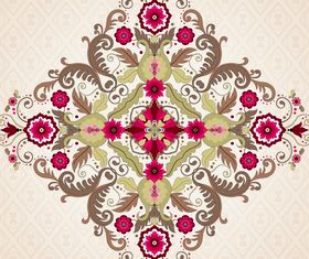 Floral patterns 3 vector