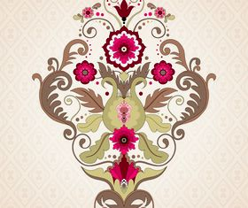 Floral patterns 5 vector