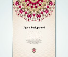 Cover Floral 2 vector