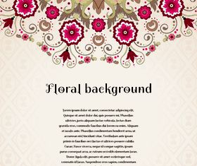 Florals backgrounds 16 vector