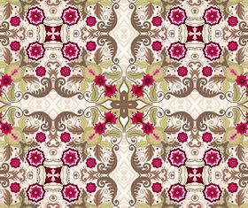 Seamless pattern floral 3 vector