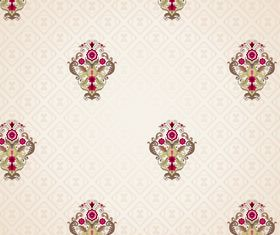 Seamless pattern floral 7 vector