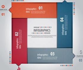 Infographics background 38 vector