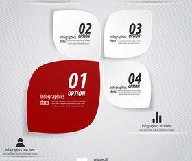 Infographics background 40 vector