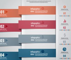 Infographics background 41 vector