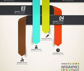 Infographics background 28 vector graphics