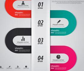 Infographics background 29 vector graphics