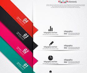 Infographics background 30 vector graphics