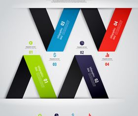 Infographics background 31 vector graphics