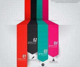Infographics background 32 vector graphics