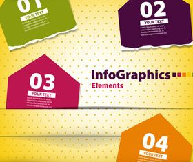 Infographics background 3 vector material