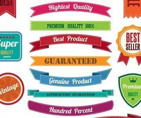 Colorful Sale Elements set vector