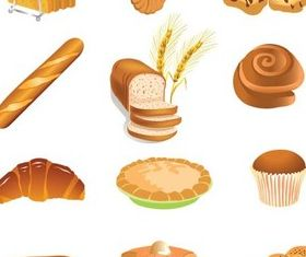 Bakery graphic vector