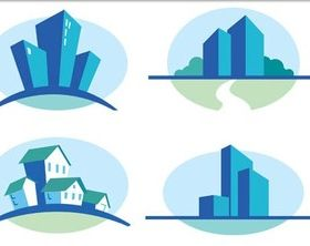 City Symbols graphic vector
