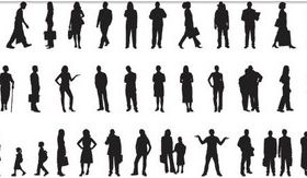 People graphic vectors