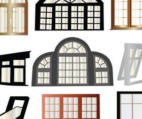 Different Style Windows vector