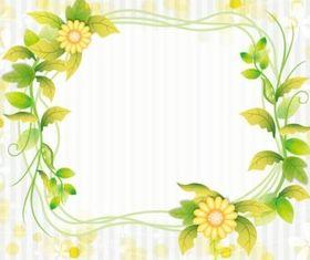 Fresh flower vector graphics