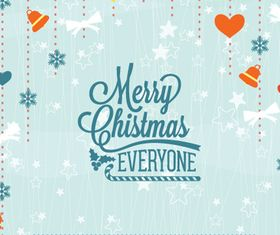 Christmas Message card 5 vector