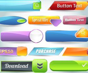 web button 10 creative vector set