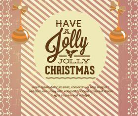 Jolly Christmas background 5 vector design