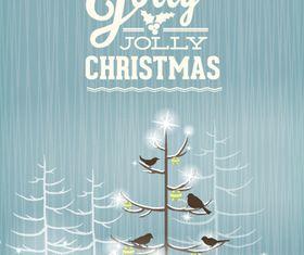 Jolly Christmas background 8 vector design