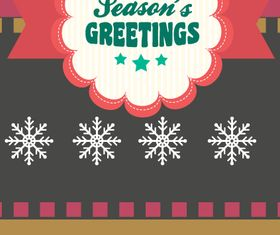 Greetings cards 2 vector