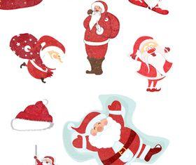 Christmas santa vector